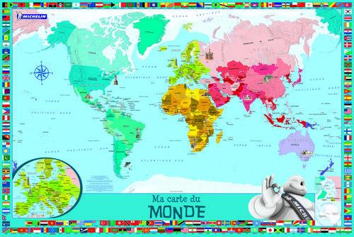 Livre ma carte du monde planisph re enfants collectif for Planisphere enfant