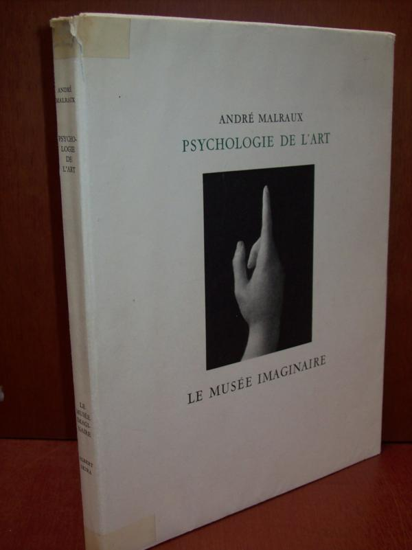 livre psychologie de l 39 art le mus e imaginaire malraux andr acheter occasion 1947. Black Bedroom Furniture Sets. Home Design Ideas