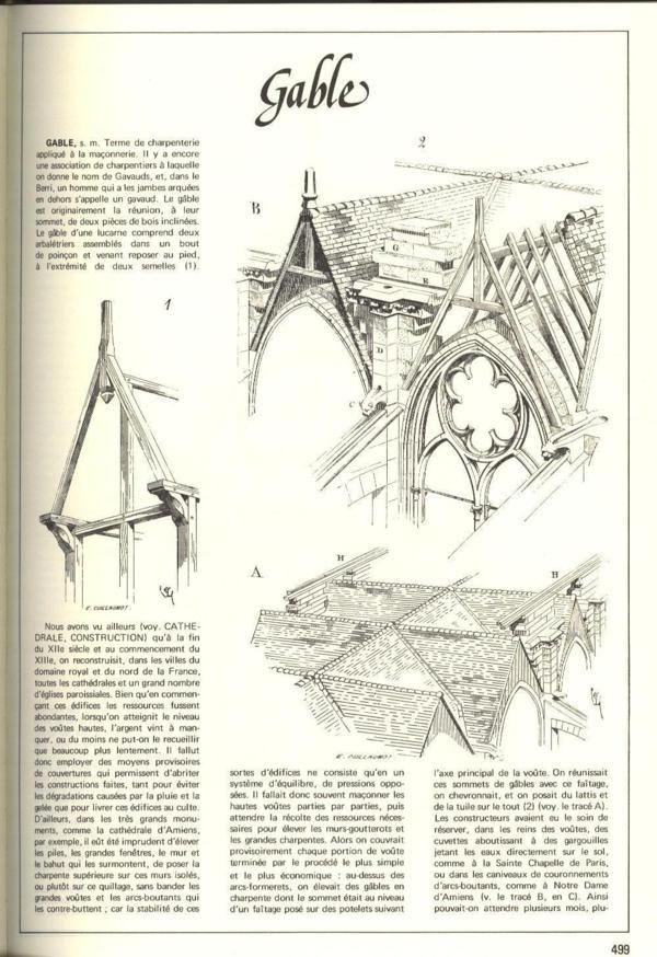 Livre encyclopedie medievale refonte en 1 volume du for Architecture dictionnaire