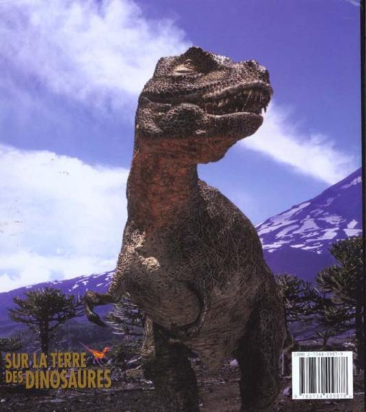 livre sur la terre des dinosaures une histoire naturelle tim haines acheter occasion 2000. Black Bedroom Furniture Sets. Home Design Ideas