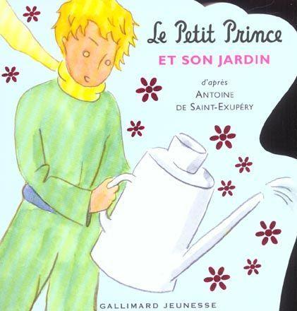 livre le petit prince et son jardin antoine de saint. Black Bedroom Furniture Sets. Home Design Ideas