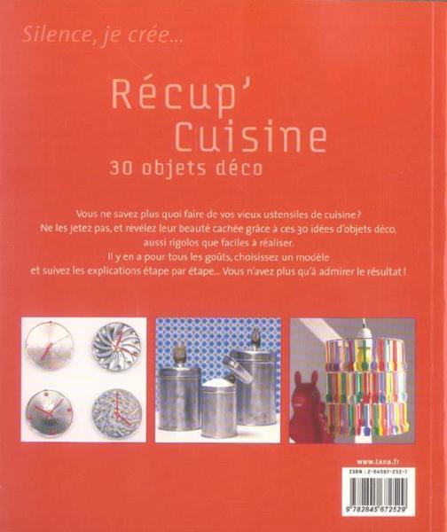 Livre r cup 39 cuisine 30 objets d co fran oise hamon - Objets deco cuisine ...