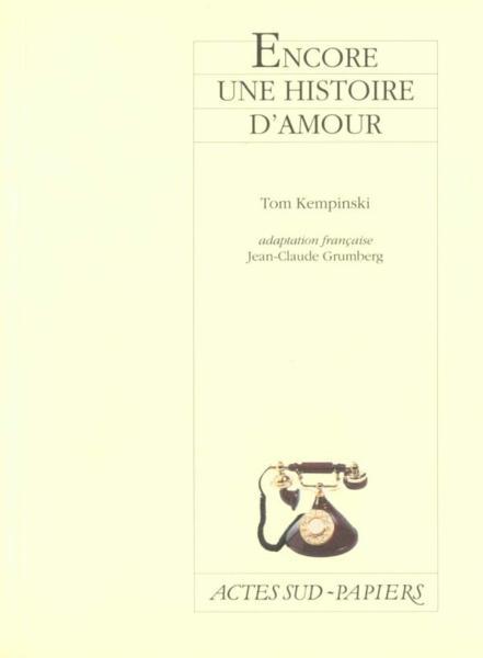 livre encore une histoire d 39 amour tom kempinski. Black Bedroom Furniture Sets. Home Design Ideas
