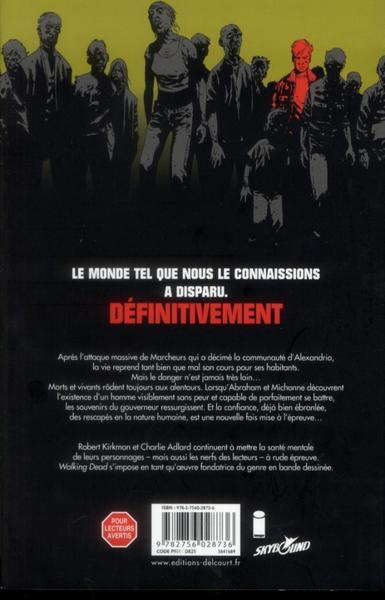 Livre walking dead un vaste monde kirkman - Livre de poche walking dead ...