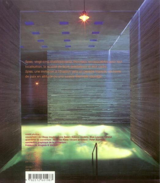 Livre spas les plus beaux spas du monde eloise - Les plus beaux interieurs du monde ...