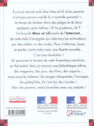 livre lili se fait pi ger sur internet saint mars dominique de bloch serge. Black Bedroom Furniture Sets. Home Design Ideas